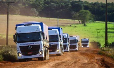 Actros Mercedes-Benz é o caminhão mais preparado para o transporte de grãos na safra recorde brasileira