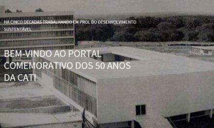 Cati lança portal para comemorar 50 anos de história