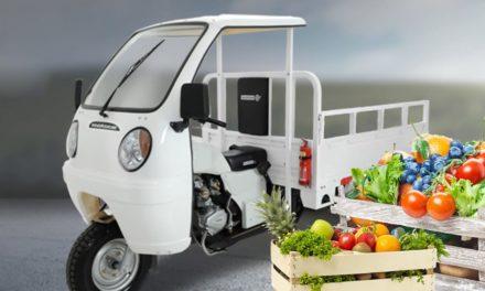 Triciclos se tornam alternativa de transporte e logística para o mercado de agronegócio
