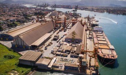 Expansão e modernização no porto de Santos