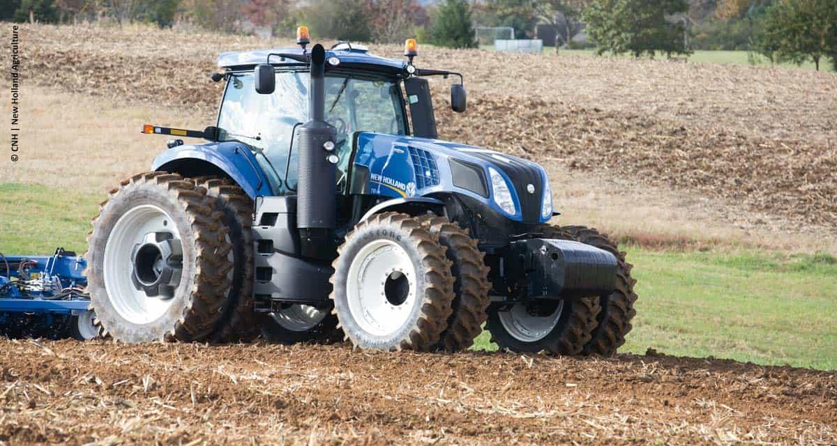 New Holland leva alta tecnologia para a Agroleite