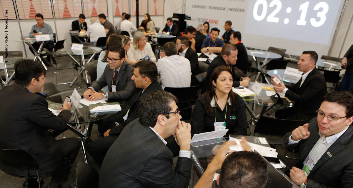 Rodada de negócios na TecnoCarne gera R$ 8,5 milhões