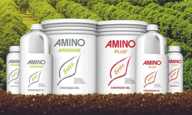 Fertilizante AMINO Plus® ganha nova embalagem