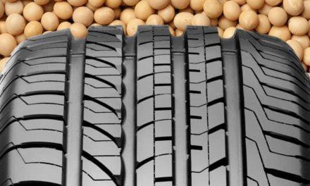 Goodyear usa borracha à base de óleo de soja em pneus