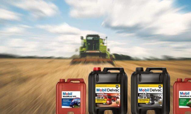 Mobil Delvac apresenta lubrificantes para equipamentos agrícolas
