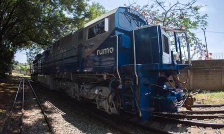 Tecnologia de locomotivas aumenta produtividade na Operação Sul da Rumo