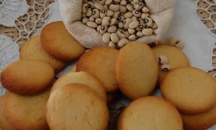 Biscoito de feijão-caupi: mais nutritivo e não contém glúten