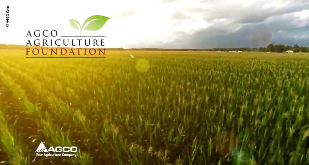 AGCO apresenta a AGCO Agriculture Foundation