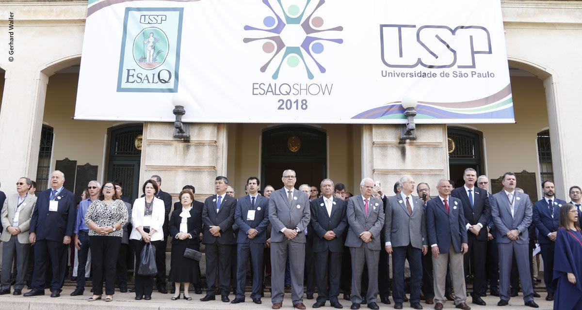 ESALQSHOW reforça como as novas tecnologias contribuem para o agronegócio produzir mais com sustentabilidade