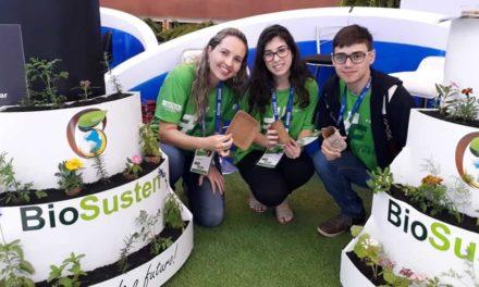 Alunos do SENAI de Sertãozinho-SP ganham prêmio com tubetes biodegradáveis