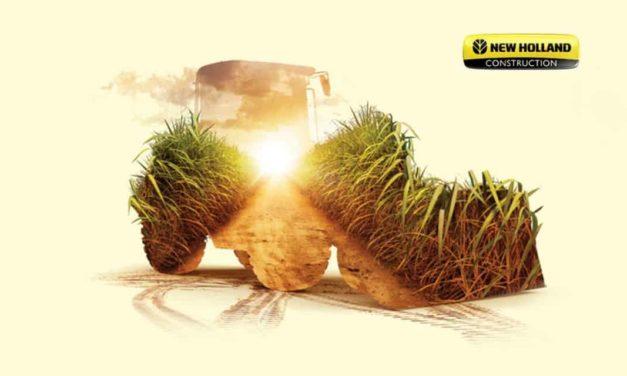 Soluções da New Holland Construction para o setor agrícola