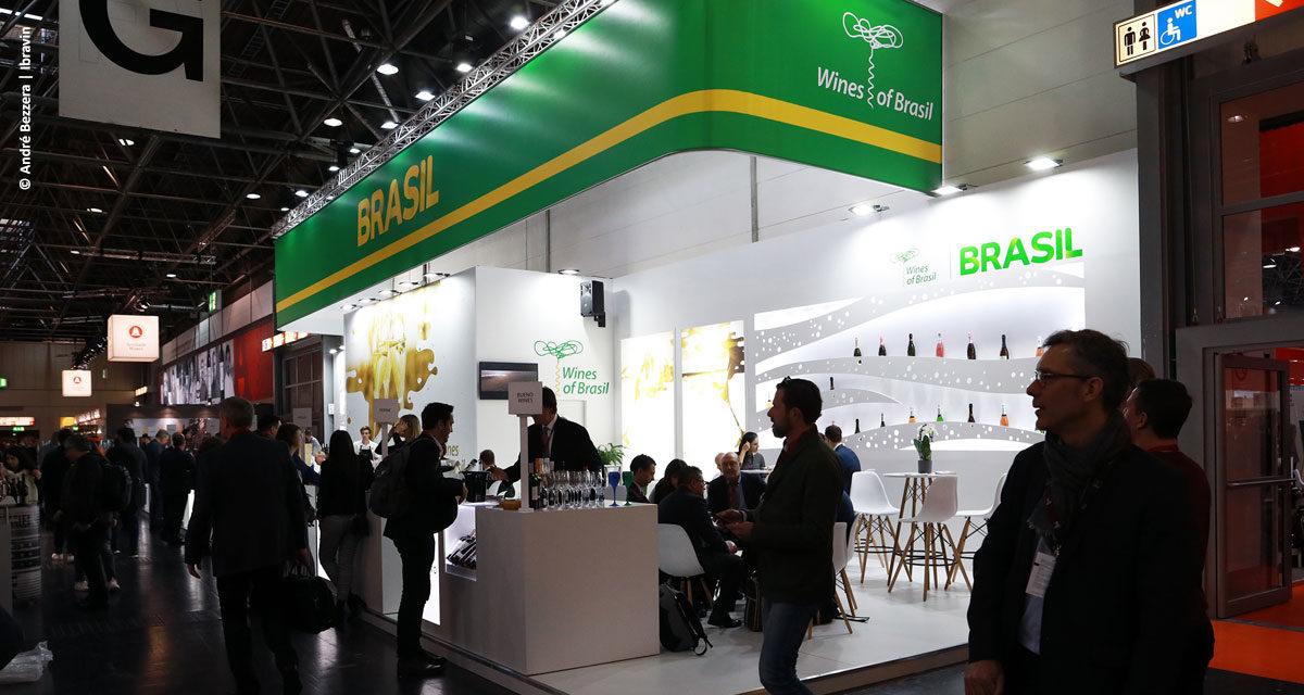 Vinícolas brasileiras negociam US$ 2 milhões em feira na Alemanha