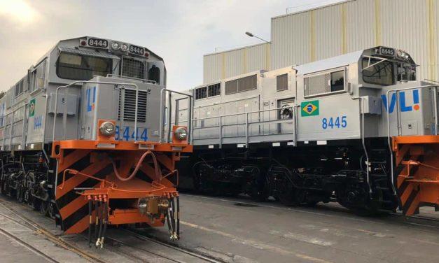 Ferrovia Centro-Atlântica recebe novas locomotivas