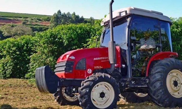 Agritech leva novas versões de tratores equipados com motores eletrônicos para a Expocafé