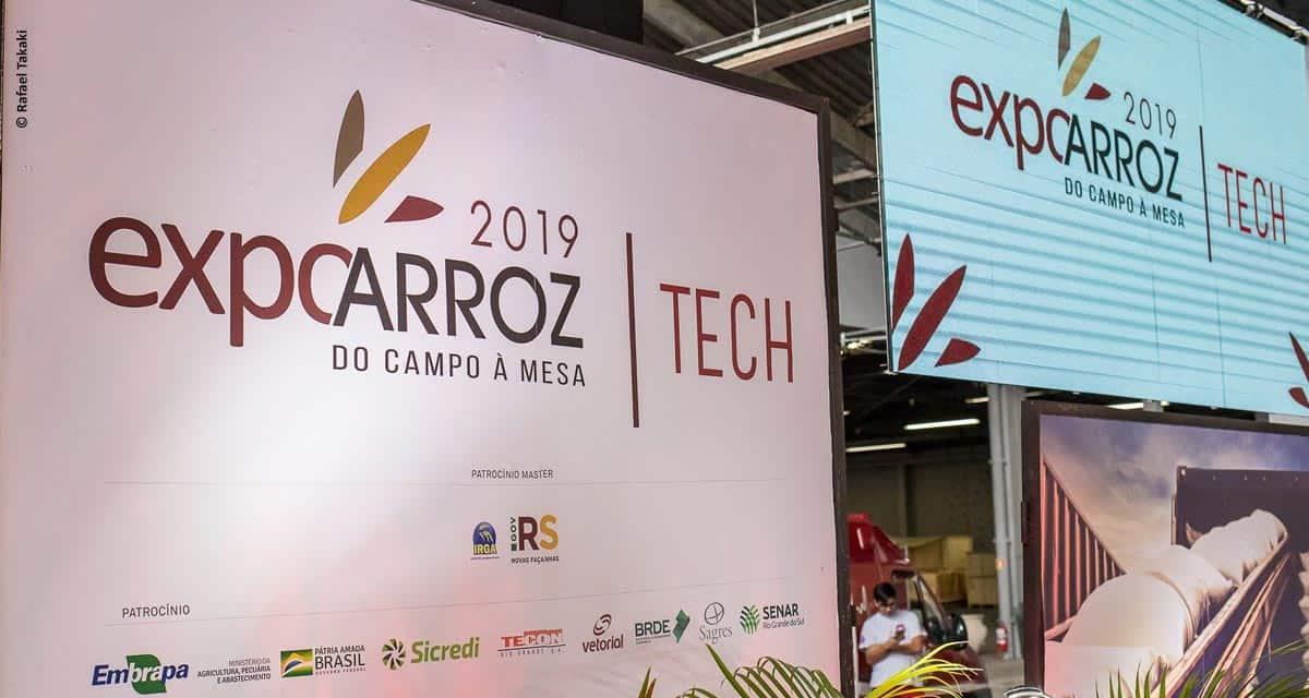 Expoarroz Tech 2019 encerra com público recorde e abre novos mercados para o arroz nacional