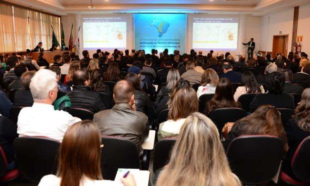 Reunião de Trigo 2019: inscrições de trabalhos prorrogadas até 31 de maio