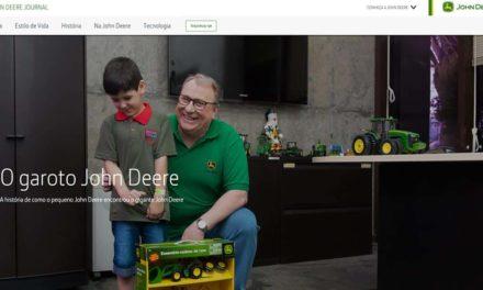 John Deere lança novo portal com histórias e notícias