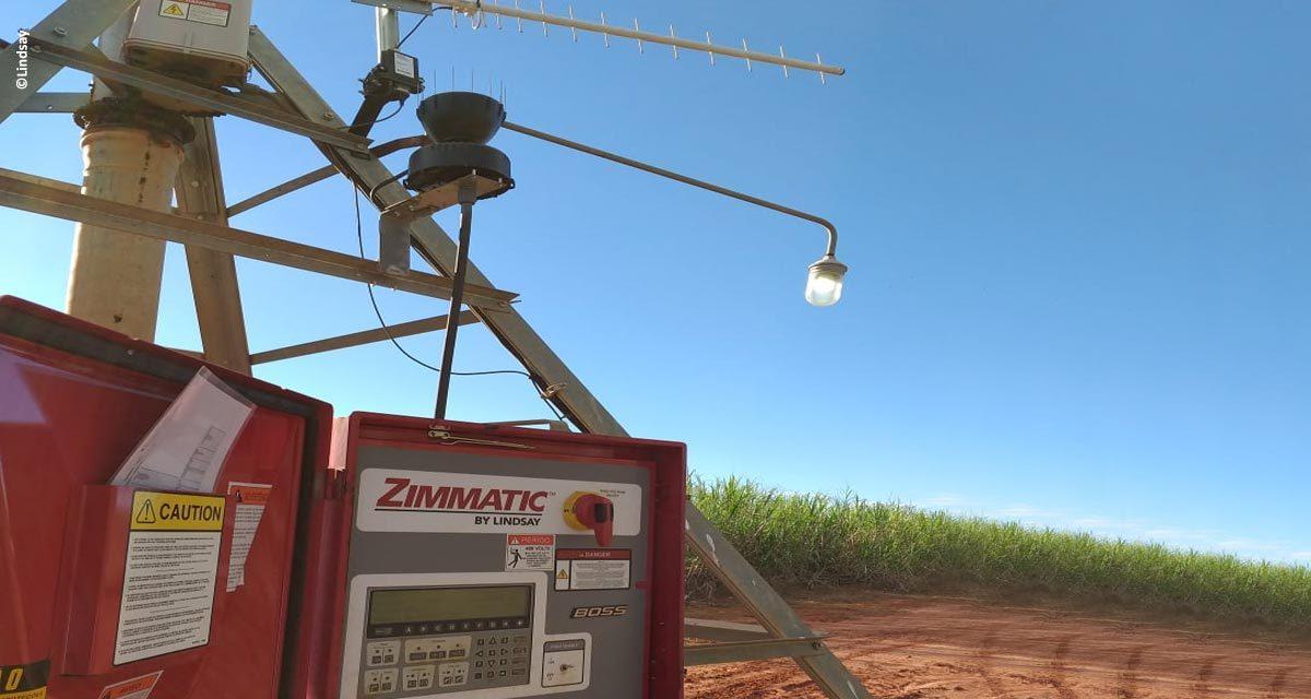 Tecnologia auxilia usina canavieira no gerenciamento eficiente dos pivôs de irrigação