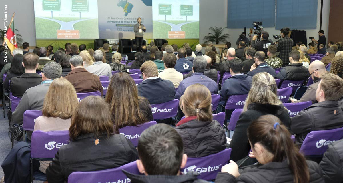 Novas tecnologias e recomendações para próxima safra são aprovadas em Reunião de trigo
