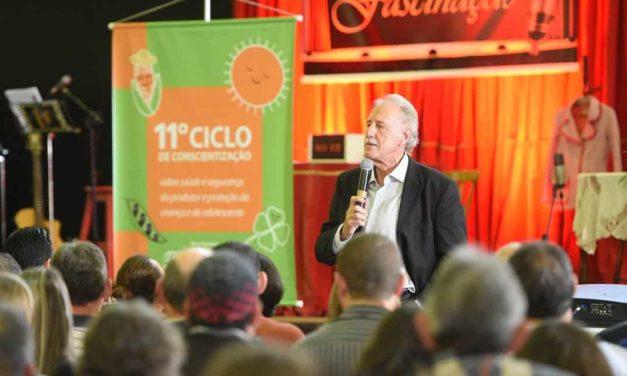 Conscientização para quase 30 mil produtores rurais