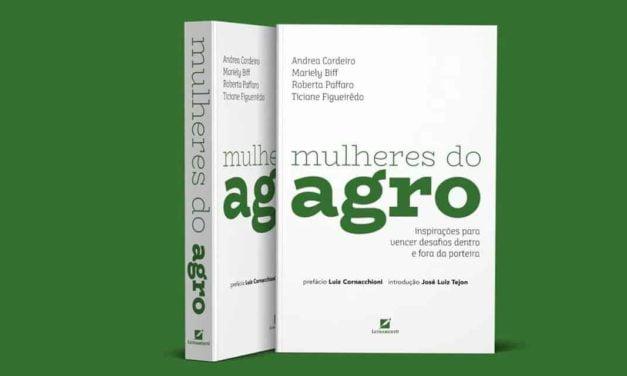"""Livro """"Mulheres do Agro"""" já tem capa aprovada e o pré-lançamentoserá em agosto"""