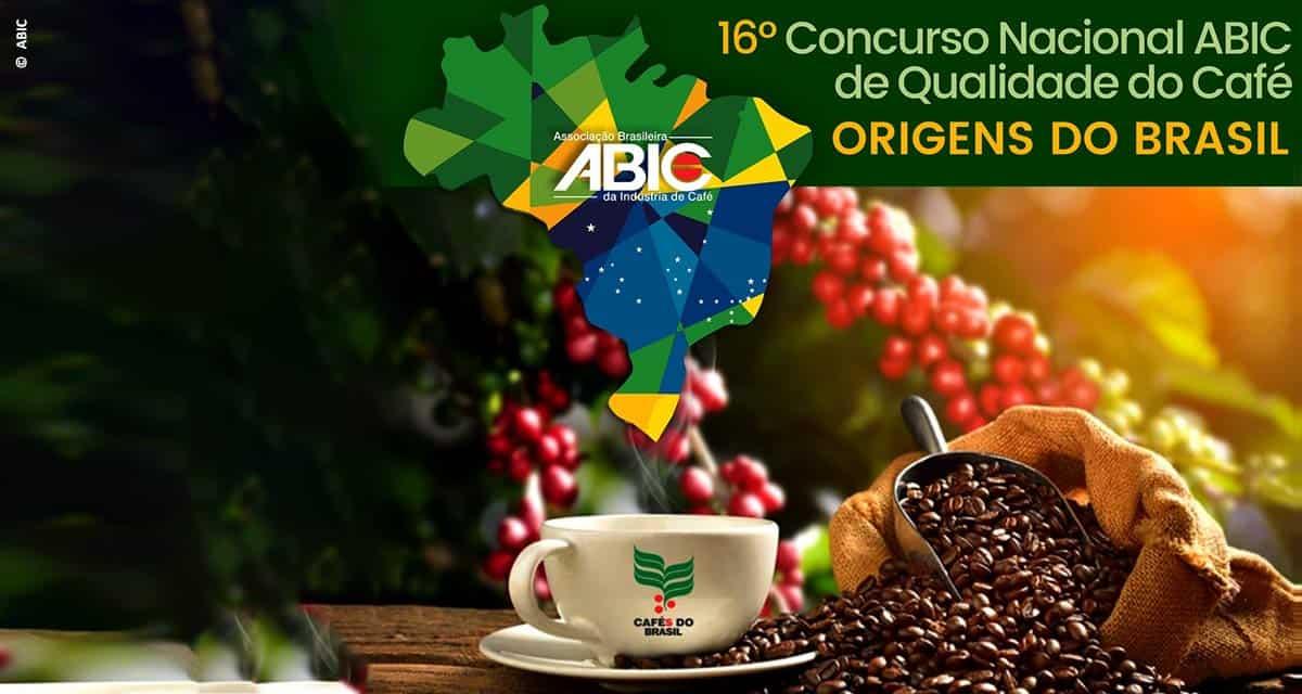 """ABIC lança 16º Concurso Nacional ABIC de Qualidade de Café – """"Origens do Brasil"""" – safra 2019"""