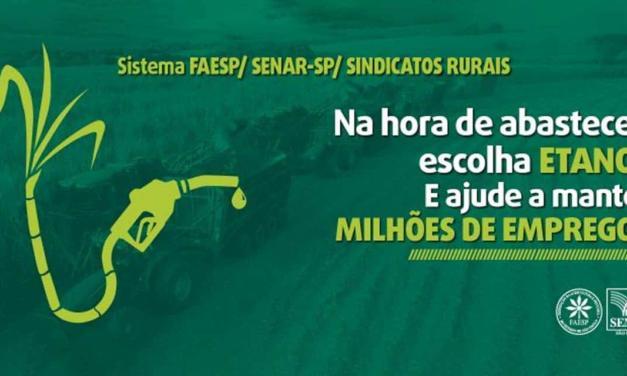 Campanha estimula consumo de etanol durante a pandemia