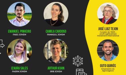 YAMI promove live para debater importância do jovem no agronegócio pós Covid 19