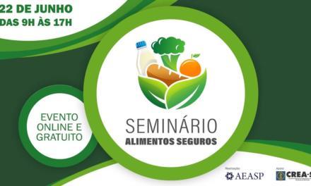 """""""Seminário Alimentos Seguros"""" debate cenário atual e tendências para o setor no Brasil e no mundo"""