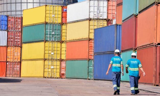 Brado aumenta a movimentação de algodão por ferrovia para o Porto de Santos, SP