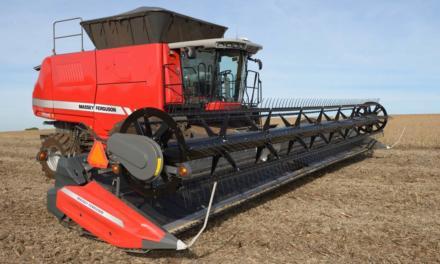 Colheitadeiras Massey Ferguson evoluem com novas plataformas Draper DynaFlex 9300