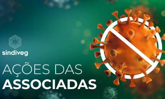 Associadas do Sindiveg realizam ações sociais para reduzir impacto da Covid-19