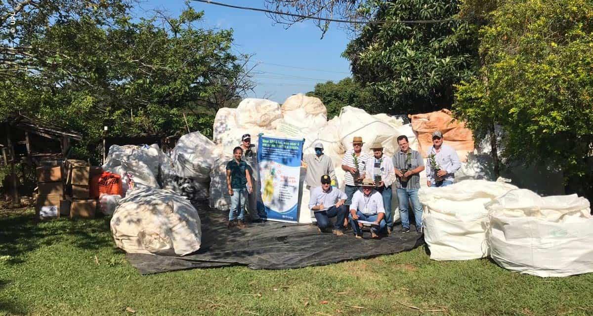 Projeto recolhe 200 toneladas de embalagens vazias de defensivos e ...