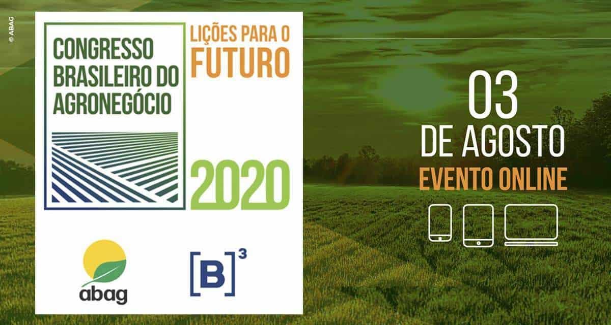 Congresso Brasileiro do Agronegócio reunirá mais de 8 mil participantes para apresentar as lições para o futuro do setor