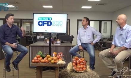 Open Field Day 2020 mostra lançamentos para horticultura e responde dúvidas de produtores rurais online