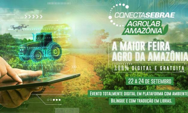 O Agro também é conectado. Vem aí Agrolab Amazônia