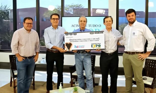 Solidariedade no Agro: Coopercitrus Expo Digital e parceiros arrecadam R$ 491.399 mil para Hospital de Amor de Barretos-SP