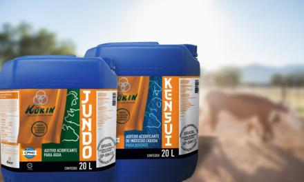 Korin lança linha de insumos biológicos específicos para produção animal