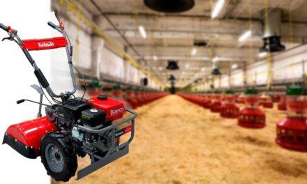 Branco apresenta ao mercado o Tratorito Granja com tecnologia exclusiva que proporciona mais eficiência no cuidado da cama aviária