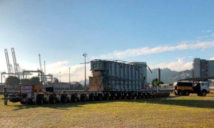 Santos Brasil dá início à operação no Terminal Saboó