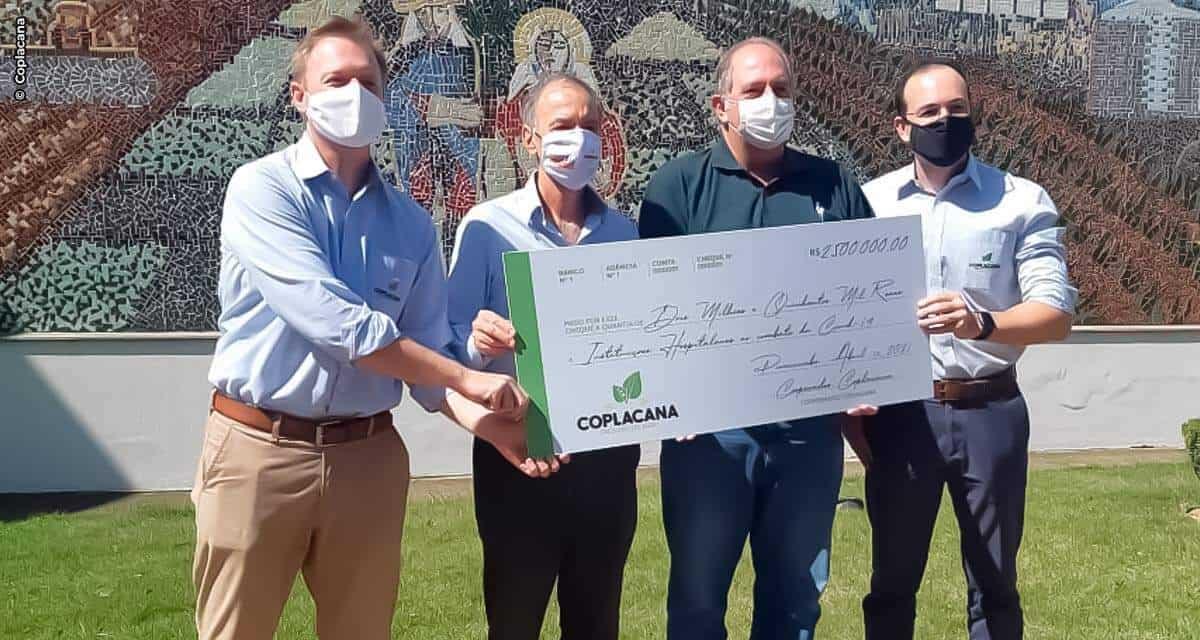 Coplacana doará 2,5 milhões para doze hospitais