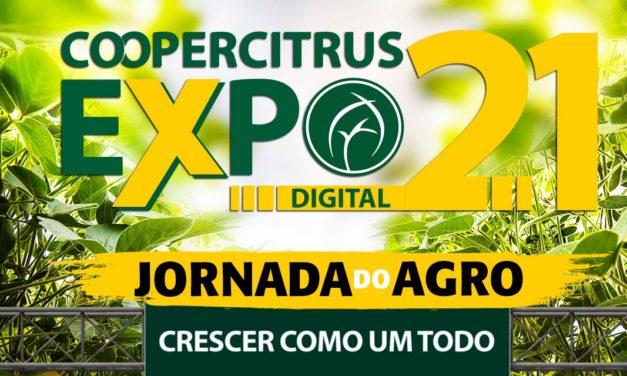 Em formato disruptivo, Coopercitrus Expo Digital propõe uma jornada pelo agronegócio