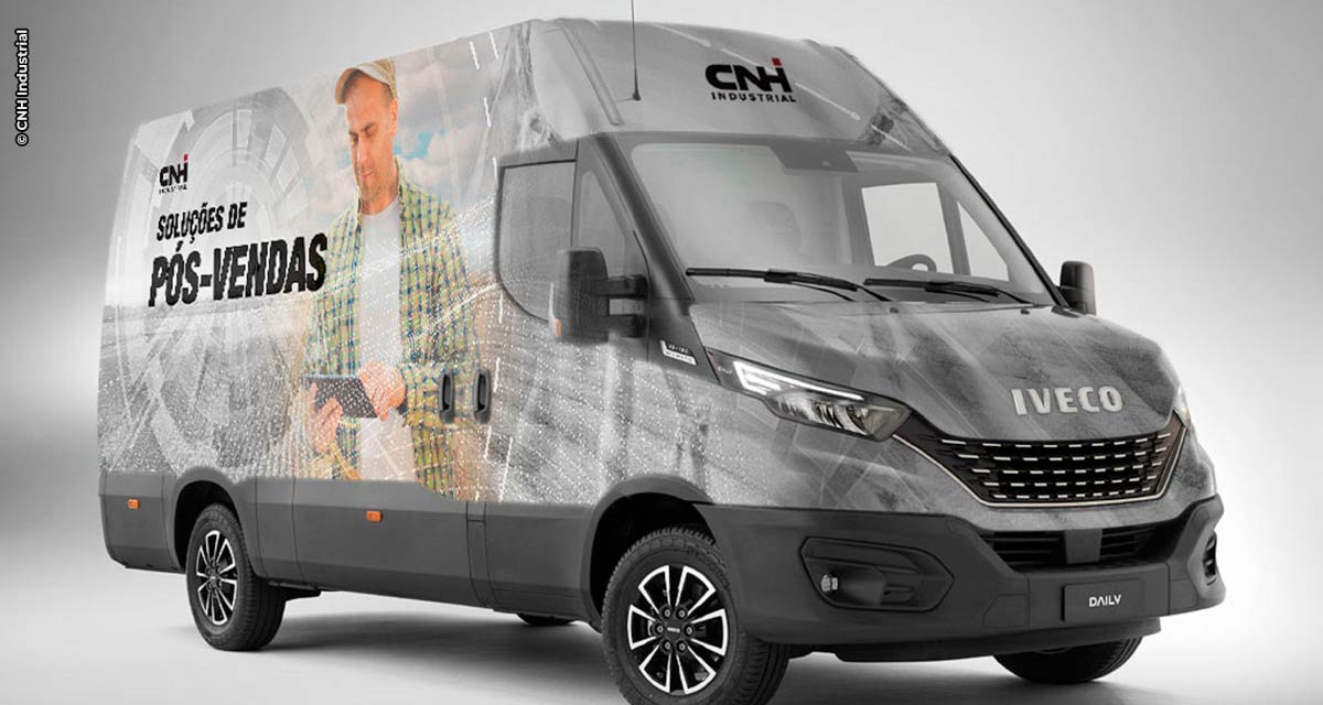 CNH Industrial cria oficina móvel para atender agricultores