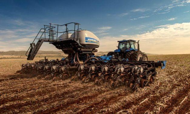 New Holland lança nova plantadeira de 27 linhas, ideal para o plantio de grãos