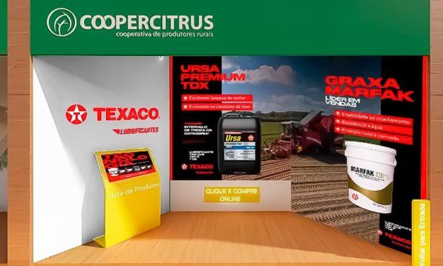 Texaco participa da 22ª edição da Coopercitrus Expo com sua linha de lubrificantes