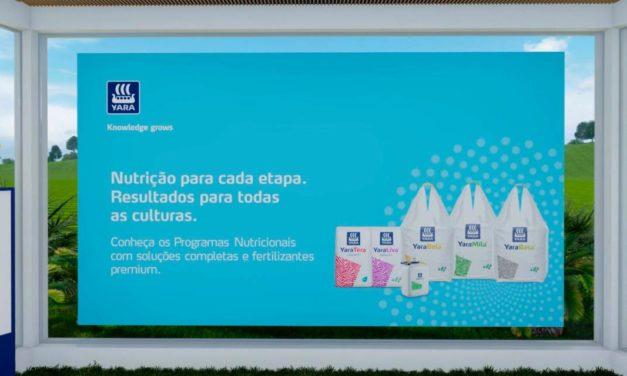 Yara apresenta soluções em nutrição na Coopercitrus Expo 2021