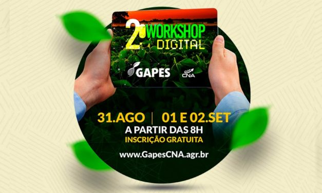 2º WorkShop Digital: evento de pesquisa do GAPES voltado ao agronegócio