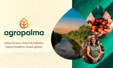 Agropalma apresenta sua nova identidade visual e posicionamento de marca e aponta novos objetivos para o futuro