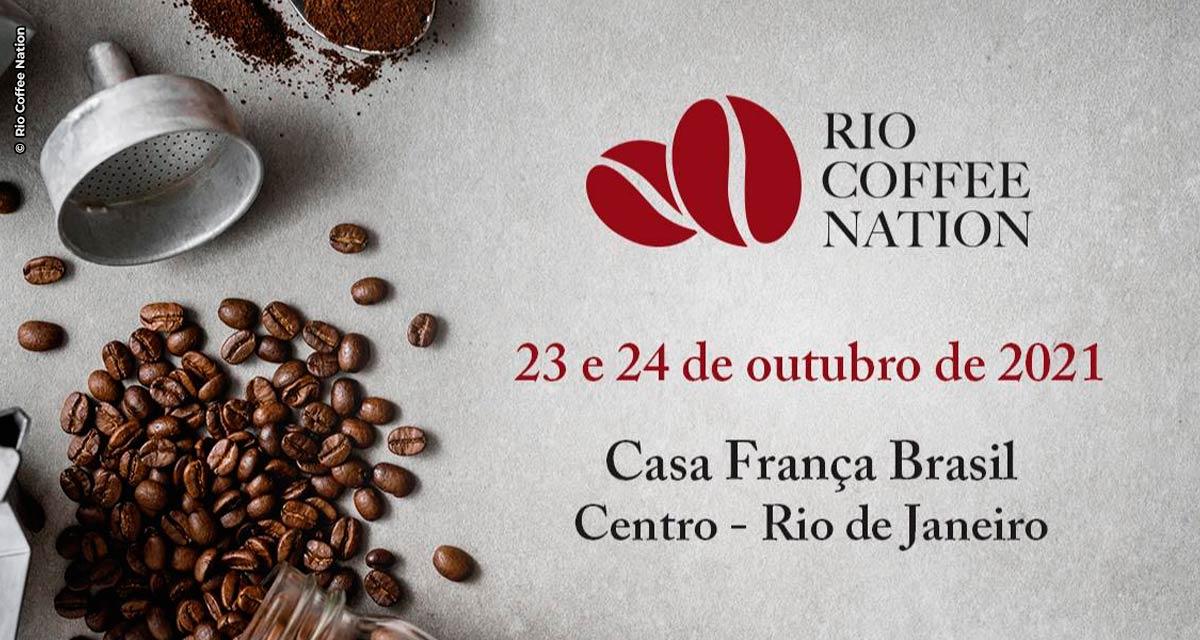 Rio Coffee Nation 2021 acontece nos dias 23 e 24 de outubro na Casa França-Brasil